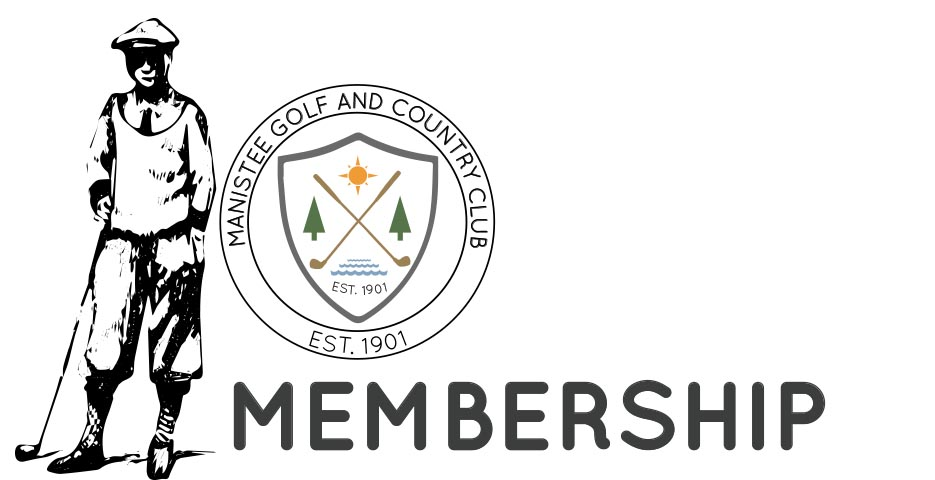 membership-text Manistee Golf and Country Club located on the Shores of Lake Michigan